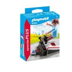Playmobil Skateboarder Με Ράμπα 9094 4008789090942