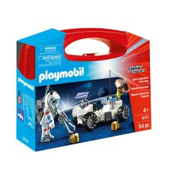 Playmobil Βαλιτσάκι Αστροναύτης Με Εξερευνητικό Όχημα 9101 4008789091017