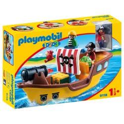 Playmobil Πειρατικό Καράβι 1.2.3 9118 4008789091185