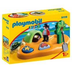 Playmobil Πειρατικό νησί 1.2.3 9119 4008789091192