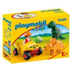 Playmobil Εξερευνητής με δεινόσαυρους 9120 4008789091208
