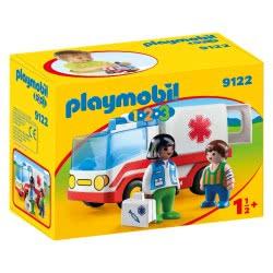 Playmobil Γιατρός και ασθενοφόρο 9122 4008789091222
