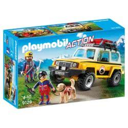 Playmobil Mountain Rescue Truck 9128 4008789091284
