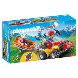Playmobil Γουρούνα Με Φορείο Διάσωσης Ορειβατών 9130 4008789091307