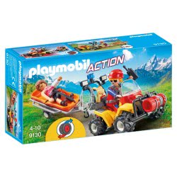 Playmobil Mountain Rescue Quad 9130 4008789091307