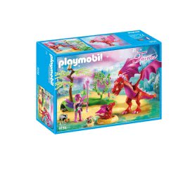 Playmobil Friendly Dragon With Baby 9134 4008789091345