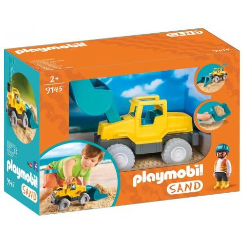 Playmobil Μπουλντόζα Εξωτερικού Χώρου 9145 4008789091451