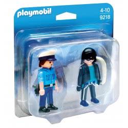 Playmobil Duo Pack Αστυνομικός Και Ληστής 9218 4008789092182
