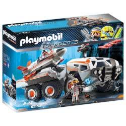 Playmobil Θωρακισμένο Όχημα Της Spy Team 9255 4008789092557