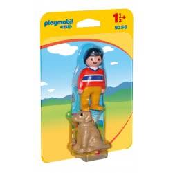 Playmobil Αγόρι με σκυλάκι 9256 4008789092564