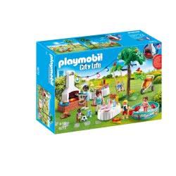 Playmobil Πάρτυ Στον Κήπο Με Barbecue 9272 4008789092724