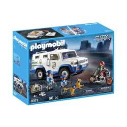 Playmobil Όχημα Χρηματαποστολής 9371 4008789093714