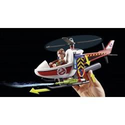 Playmobil Δρ. Βένκμαν με ελικόπτερο 9385 4008789093851