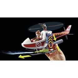 Playmobil Venkman with Helicopter 9385 4008789093851
