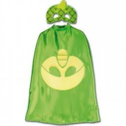 CLOWN Αποκριάτικη παιδική στολή Πιτζαμοήρωας Πράσινο One size 95515 5203359955150
