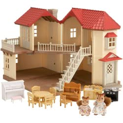 Epoch The Sylvanian Families - Μεγάλο Σπίτι Με Έπιπλα 2746 8711915027465