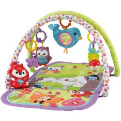 Fisher-Price Woodland Friends 3-in-1 Musical Activity Gym CDN47 887961046045