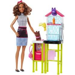 Mattel Barbie Pet Groomer Playset DHB63 / FJB31 887961531855