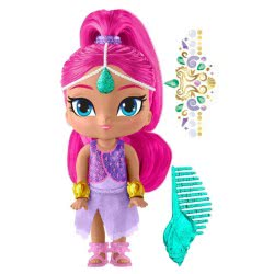 Fisher-Price Fisher Price Shimmer & Shine: Geanie Beach Shimmer Κούκλα DLH55 / DTK80 887961358032