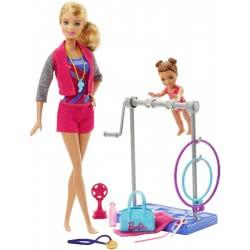Mattel Barbie Σετ Επαγγέλματα - Δασκάλα Αθλημάτων: Γυμνάστρια DVG13 / FKF75 887961545968