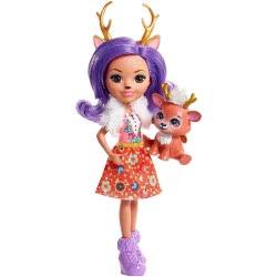 Mattel Enchantimals Κούκλα και Ζωάκι Danessa Deer DVH87 / FNH23 887961591637