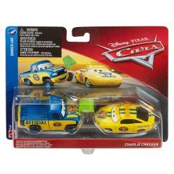 Mattel Disney/Pixar Cars 3 Dexter Hoover And Charlie Checker DXV99 / FLH61 887961558470