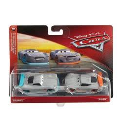 Mattel Disney/Pixar Cars 3 Gabriel and Aiden Αυτοκινητάκια Σετ των 2 DXV99 / FLH54 887961558494