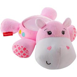 Fisher-Price Hippo Projection Soother - Pink FGG89 887961504743