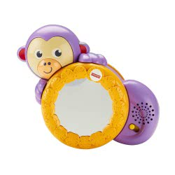 Fisher-Price Fisher Price 1-2-3 Crawl Along Monkey FHF75 887961522082