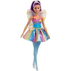 Mattel Barbie Dreamtopia Νεράιδα, Μωβ FJC84 / FJC85 887961533408