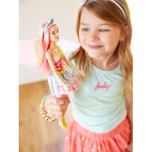 Mattel Barbie Dreamtopia Νεράιδα, Ροζ FJC84 FJC88