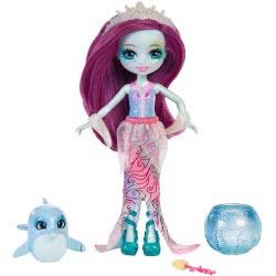 Mattel Enchantimals - Κούκλα Του Βυθού & Ζωάκι Φιλαράκι Με Αξεσουάρ FKV54 / FKV55 887961552423