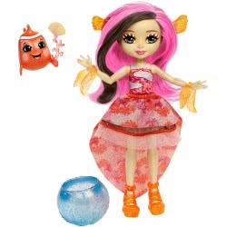 Mattel Enchantimals - Clarita Κούκλα του Βυθού & Ζωάκι Φιλαράκι με Αξεσουάρ FKV54 / FKV56 887961552409