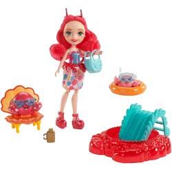 Mattel Enchantimals - Cameo Crab Σετ Κούκλα του Βυθού & Ζωάκι Φιλαράκι με Αξεσουάρ FKV58 / FKV60 887961552461