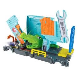Mattel Hot Wheels City Gator Garage Attack Πίστα με Τέρατα FNB05 / FNB06 887961585858