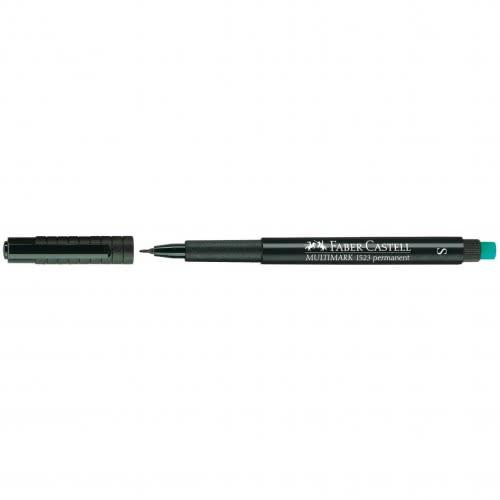 Faber-Castell Office Multimark Marker M 1Mm Permanent Πράσινο 152563 4005401525639