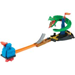 Mattel Hot Wheels City Cobra Crush Playset FNB20 887961585919