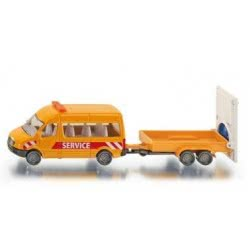 siku Όχημα μεταφοράς με τρέϊλορ SI001660 4006874016600