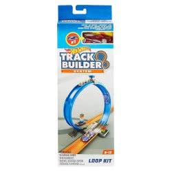 Mattel Hot Wheels Track Builder Σετ Με Αξεσουάρ & Αυτοκινητάκι FPF03 / FPF04 887961607413