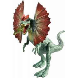 Mattel Jurassic World Βασικές Φιγούρες Δεινοσαύρων - Dilophosaurus FPF11 / FPF14 887961607529