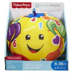 Fisher-Price Laugh & Learn - Kick Soccer Ball FTC99 887961641219