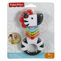 Fisher-Price Fisher Price Zebra Rattle FWH54 / FGJ56 887961506426