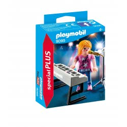 Playmobil Singer with Keyboard 9095 4008789090959
