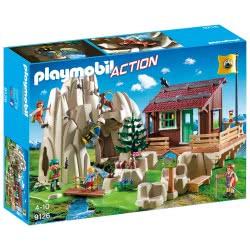Playmobil Ορειβατική Καλύβα Και Βράχια Αναρρίχησης 9126 4008789091260