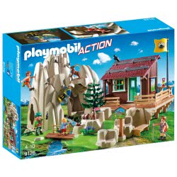 Playmobil Rock Climbers with Cabin 9126 4008789091260