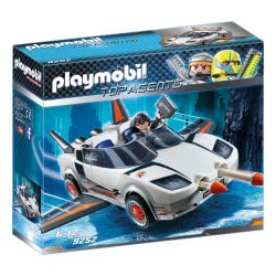 Playmobil Agent P. With Racer 9252 4008789092526