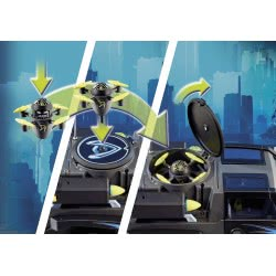 Playmobil Dr. Drone's Pickup 9254 4008789092540