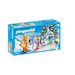 Playmobil Εκπαιδευτής Σκι Με Παιδάκια 9282 4008789092823