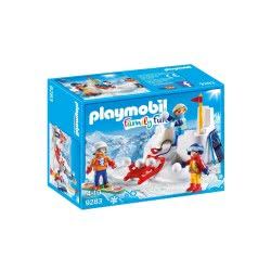 Playmobil Παιχνίδια Στο Χιόνι 9283 4008789092830