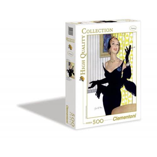 Clementoni Παζλ 500 H.Q. Επικίνδυνη Γυναίκα 1220-30328 8005125303281